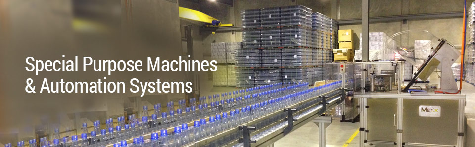 Custom Automation for Special Purpose Machines, Mexx Engineering