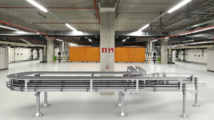 Covered Conveyor System